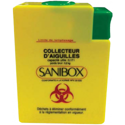 Sharps Disposal box –Sanibox 250 ml