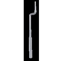 Osteotome, convex, bajonet, dia. 2,2 mm