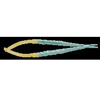 TC Micro needle holder CASTROVIEJO, straight