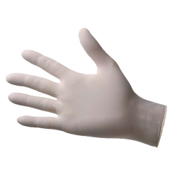 Vinyl, non-powdered, non-sterile gloves