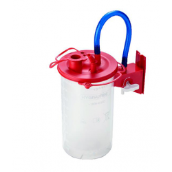 Disposable system for suction waste collection