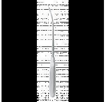 Zygomatic arch awl OBWEGESER 23cm