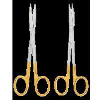 Scissors Goldmann-Fox with tungsten carbide